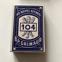 Kartenspiel Spielkarten Nypes Refinos 104 B.P. Grimaud Hamburg - Bergedorf Vorschau