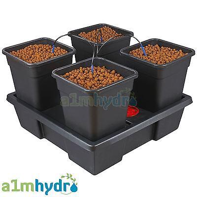 Pot Dripper-system (Atami Wilma 4 Pot Complete Dripper System Grow Kit Hydroponics)