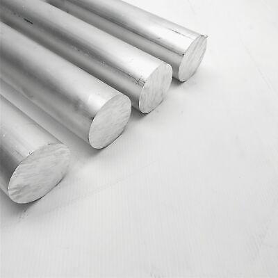 2.375 Diameter 6061 Aluminum Round Bar 4.25 Long Stock Pieces 4 Sku 199289