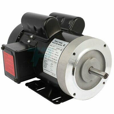 5hp Electric Motor For Air Compressor Single Phase 3450rpm 60hz 208-230v