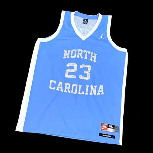 Legacy Authentic Nike North Carolina Jordan NBA Trikot Basketball Jersey XI 1985