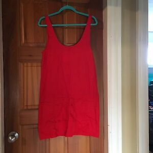 Red Hurley dress. NWT