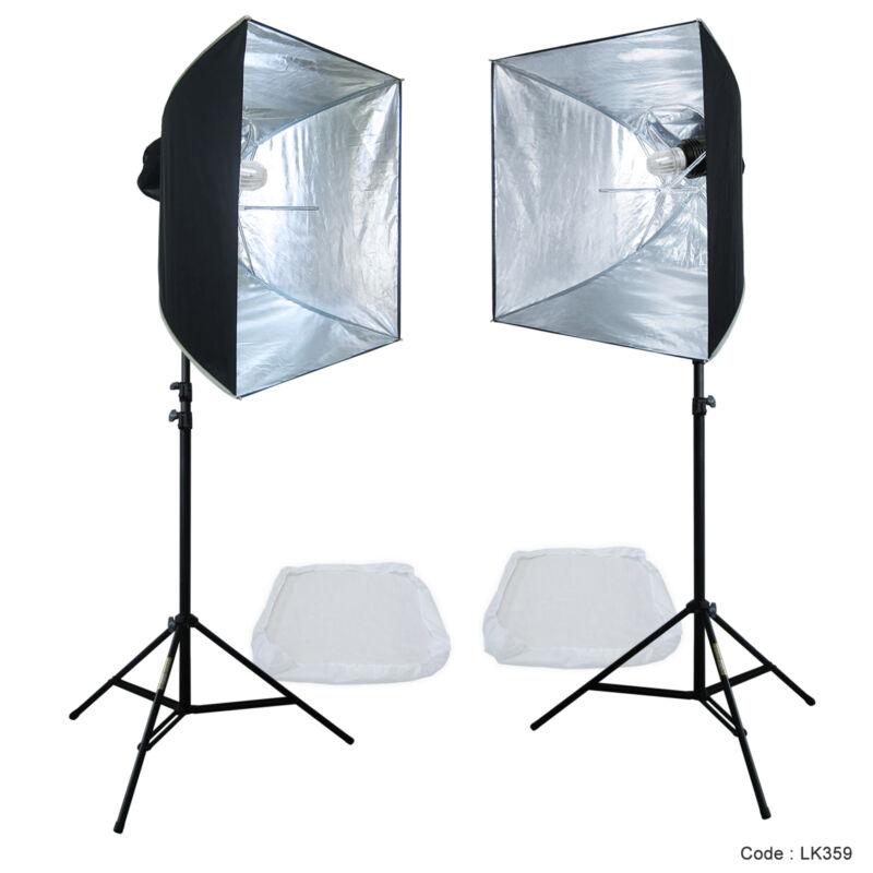Linco Lincostore Studio Lighting Strobe Flash Photo Softbox Light Kit