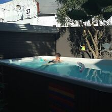 fabulous outdoor endless swim spa Prahran Stonnington Area Preview