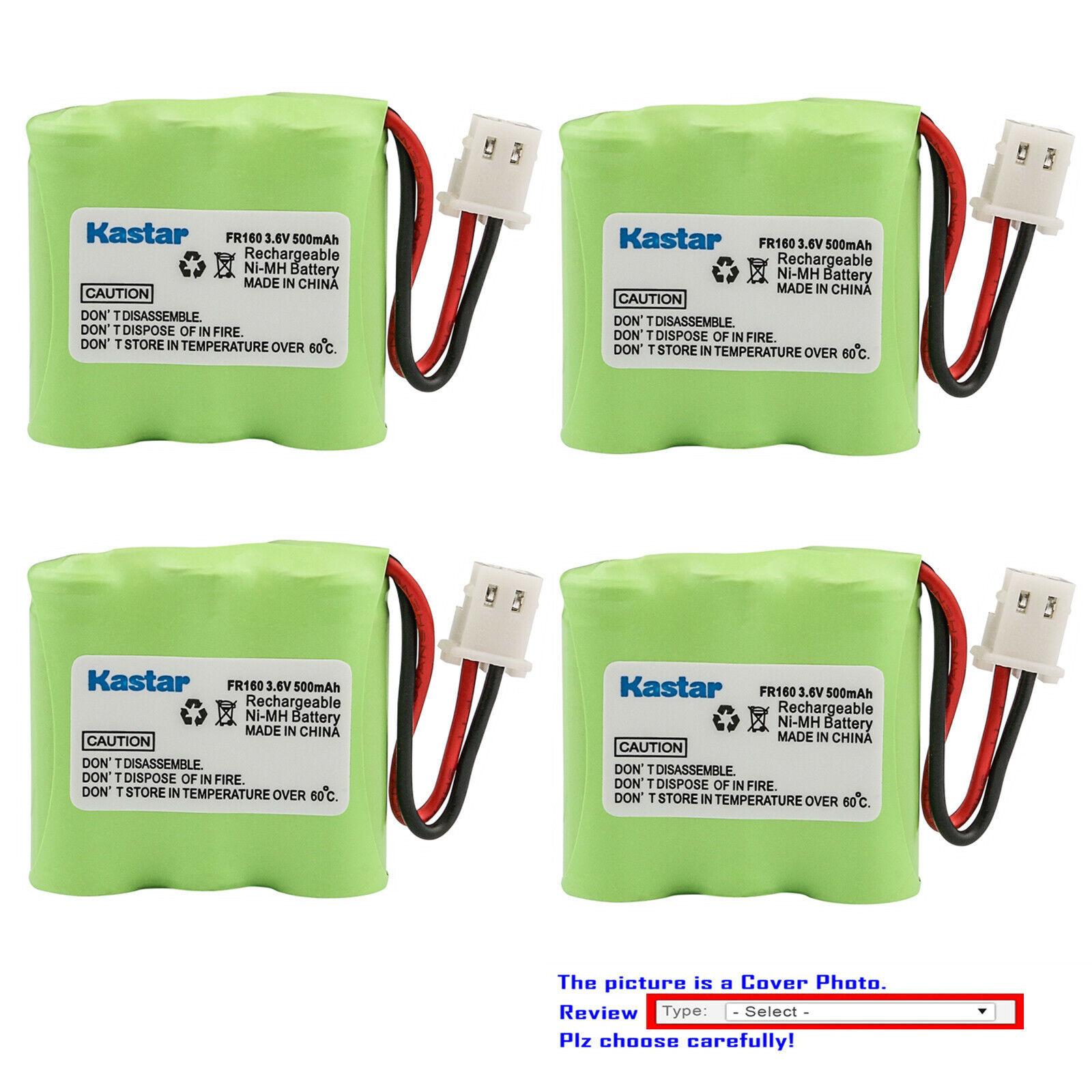 Kastar Ni-MH Battery Replace for Eton Microlink FR160 FR-160