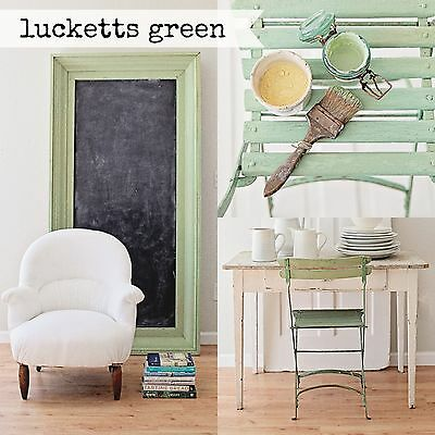 (Miss Mustard Seed Milk Paint - Lucketts Green - Sample Size furniture painting)