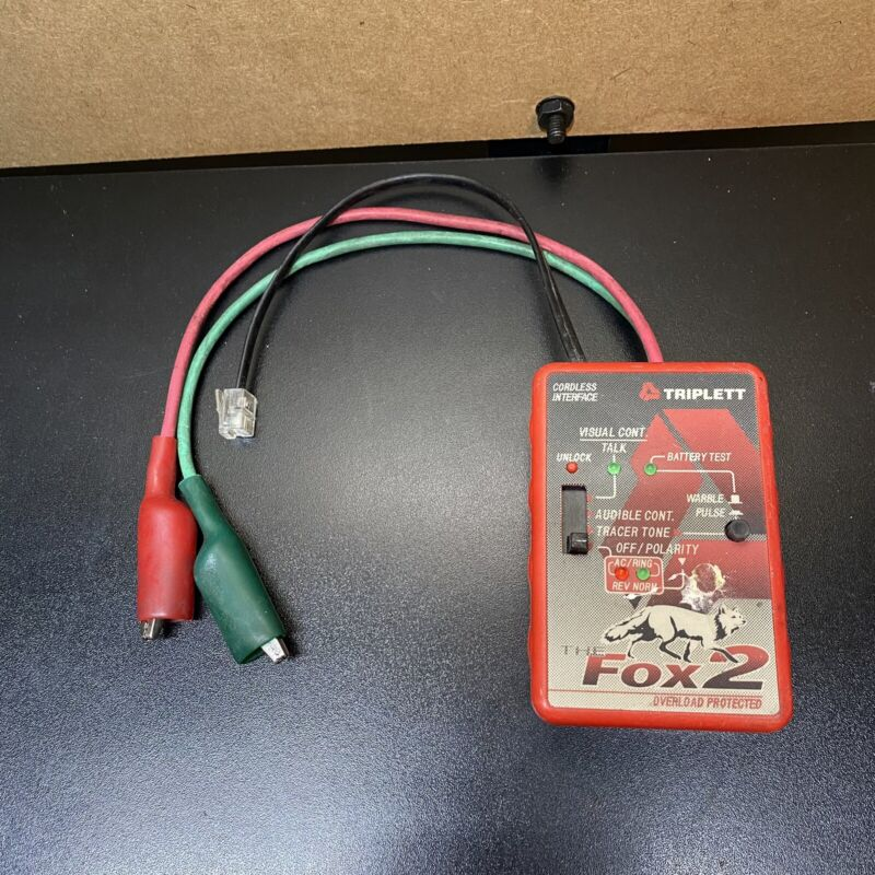 Triplett Cable Tracer The Fox 2 - FREE SHIPPING
