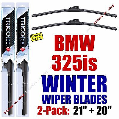 WINTER Wipers 2-Pack Premium Grade - fit 1992-1995 BMW 325is - 35210/200