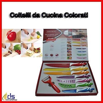 Coltello da Cucina Professionale Set Coltelli Professionali in Ceramica