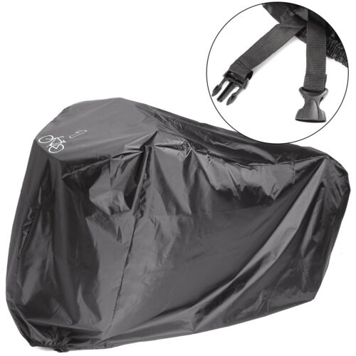 Green Black Durable Mountain Bicycle Rain Cover Protector for 2 Bikes 200x75x110