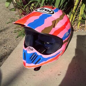 Motor Cross Helmet signed by Mick Doohan Burleigh Waters Gold Coast South Preview
