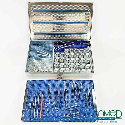 Storz Katana Corneal Transplant Eye Instrument Tray