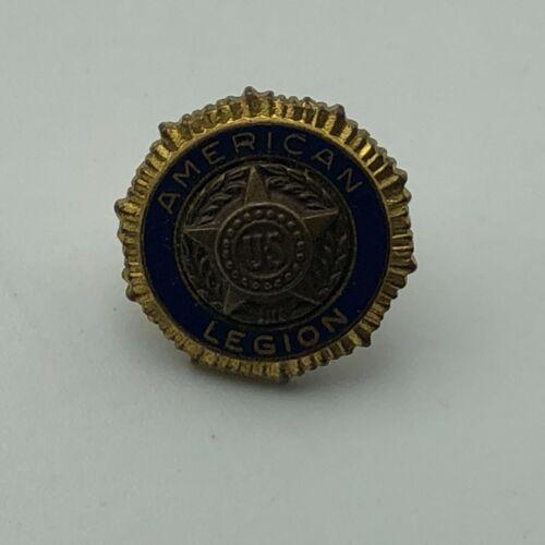 Vintage Bastian Bros Screw Back US American Legion Lapel Pin Pat 54296 Older  B1