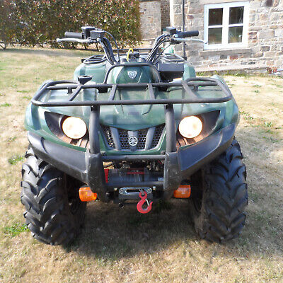 YAMAHA GRIZZLY 350cc IRS auto automatic farm quad bike ATV 4X4 4WD winch 2008