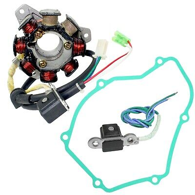 Stator Pickup Coil And Gasket For Honda ATC250R 1985 - 1986