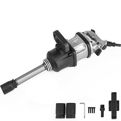Vevor 2800 Ft.lbs Air Impact Wrench 1 Drive Pneumatic Wrench 8 Extended Anvil