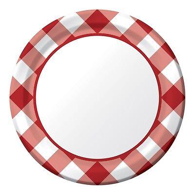 Gingham Plates 7