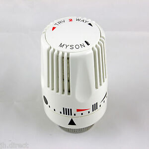 Myson Replacement Standard HEAD ONLY for TRV 2-Way Thermostatic Radiator Valve