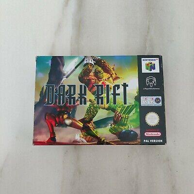 Dark Rift N64 Nintendo 64 Collector PAL