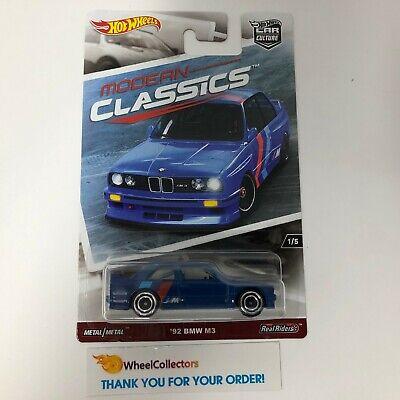 '92 BMW M3 * Hot Wheels MODERN CLASSICS Car Culture * WJ11