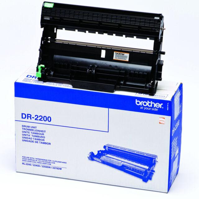 GENUINE BROTHER DR-2200 ORIGINAL LASER PRINTER IMAGING DRUM UNIT
