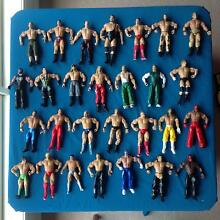 WWE figurines plus accessories Royalla Queanbeyan Area Preview