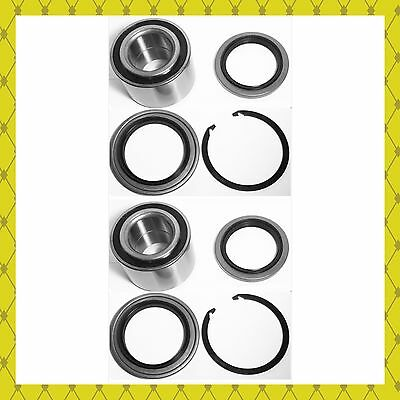 FRONT WHEEL HUB BEARING & SEAL W/SNAP RING FOR 2000-2006  TOYOTA TUNDRA  PAIR - Front Hub Seal