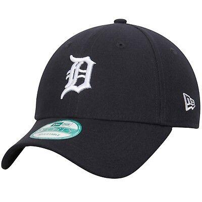 Detroit Tigers Cap MLB Baseball New Era Cap  9forty Kappe Dunkelblau Klett Navy
