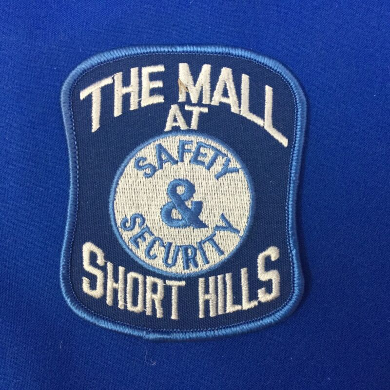 The Mall At Short Hills Safety & Security Patch FREE SHIPPING