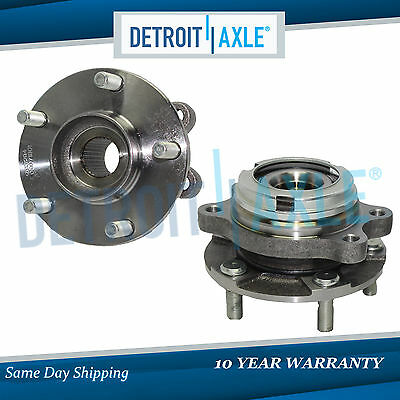 2007   2012 fits Nissan Altima 25L 2 Front Wheel bearing  Hub Assembly