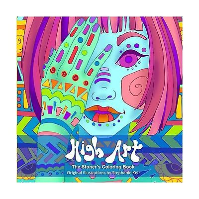 High Art  The Stoners Coloring Book Free Shipping