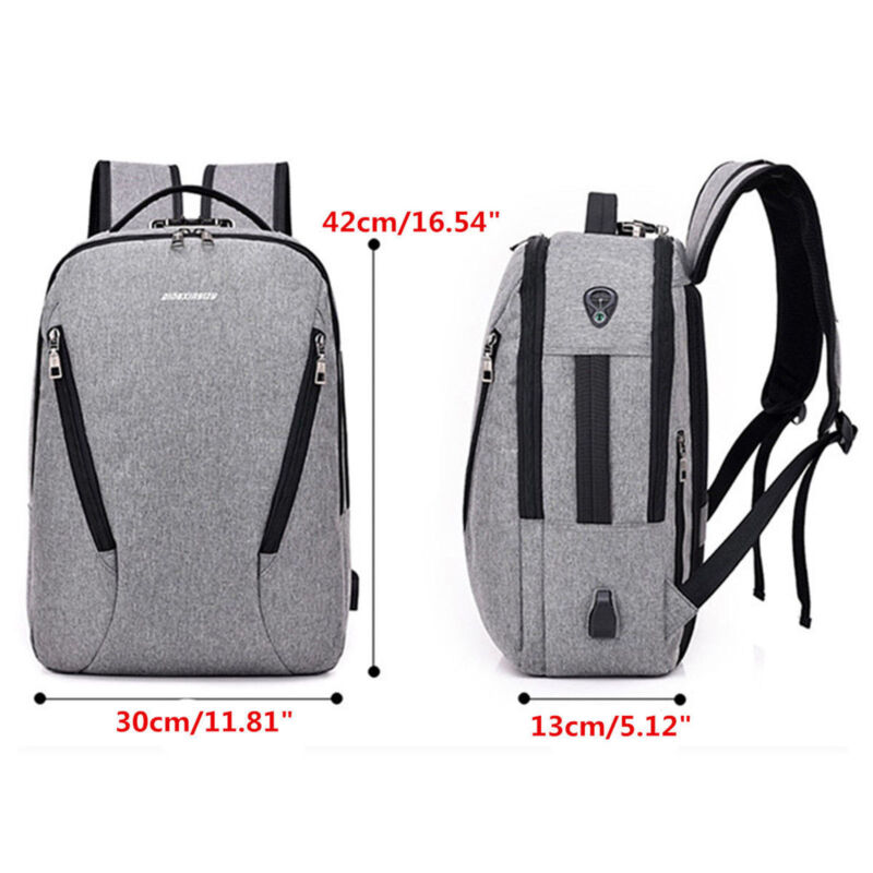 Anti Theft Backpack Charging Notebook Business