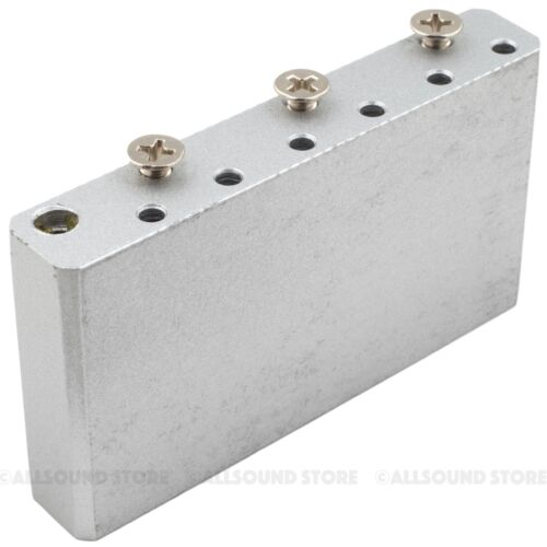 "SOLID STEEL 42mm Tremolo Block for Fender Stratocaster, 2 7/32"" (56.5mm) Spacing"