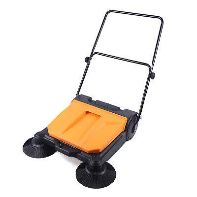 26 Industrial Hand-push Sweeper Outdoor Indoor Large Area Floor Board Sweeper