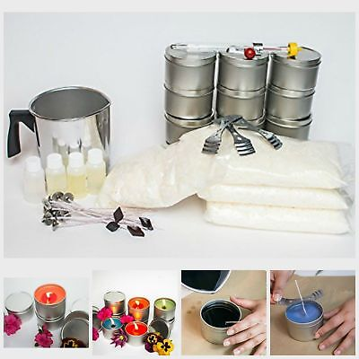 Soy Full Size Candle Making Starter Kit Easy For First Time Candle Makers New