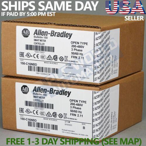 2019 New Sealed Allen Bradley 150-C16NBD Series B SMC-3 Smart Motor Controller