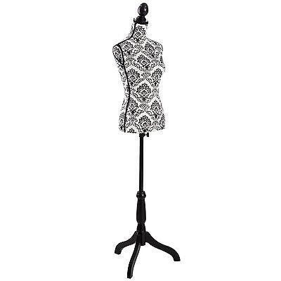 Damenbüste Schneiderpuppe Schaufensterpuppe Torso Mannequin Büste schwarz weiß