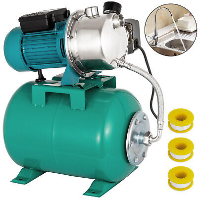 1 HP Shallow Well Jet Pump W/ Pressure Switch 12.3 GPM Booster Water 147.6 ft Jet Pump Switch
