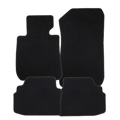 Velours schwarz Fußmatten passend für BMW 6er E24 75-89