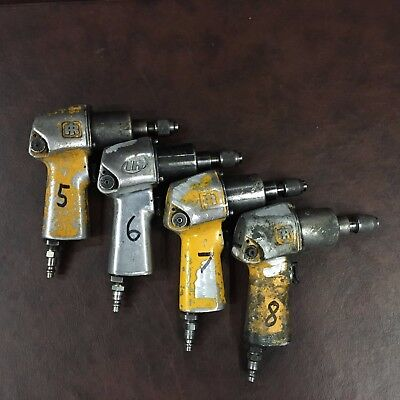 Ingersoll Rand Ir 1702 Or 212 Pistol Impact Tool Quick-change Drive Used 5-8