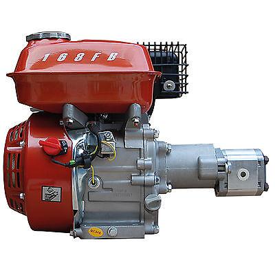 Hydraulikaggregat Benzin-Motor mit Pumpe 200bar z.B. für Holzspalter NEUTEIL