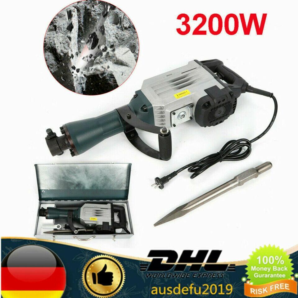 Profi 3200 Watt Abbruchhammer Meisselhammer Stemmhammer DE in Nordrhein-Westfalen - Bad Salzuflen