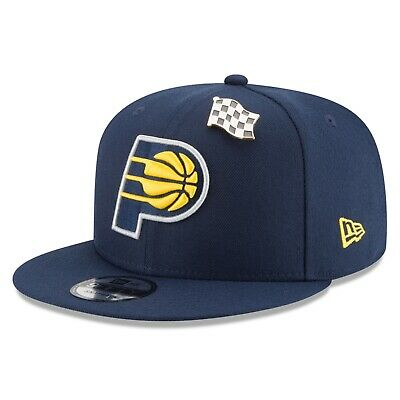 E42 Indiana Pacers New Era Official Draft 9FIFTY Snapback Cap - Mens