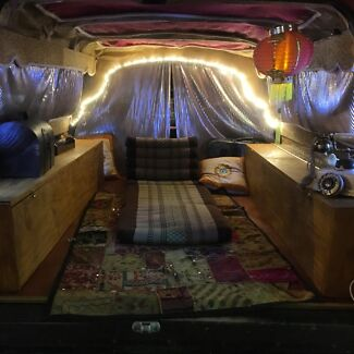 Woodford Folk Festival Van Accommodation - The NOMAD