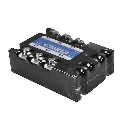 Three-phase Solid State Relay For Mager Mgr-3 032 38200z Tsr-200da 3-32vdc