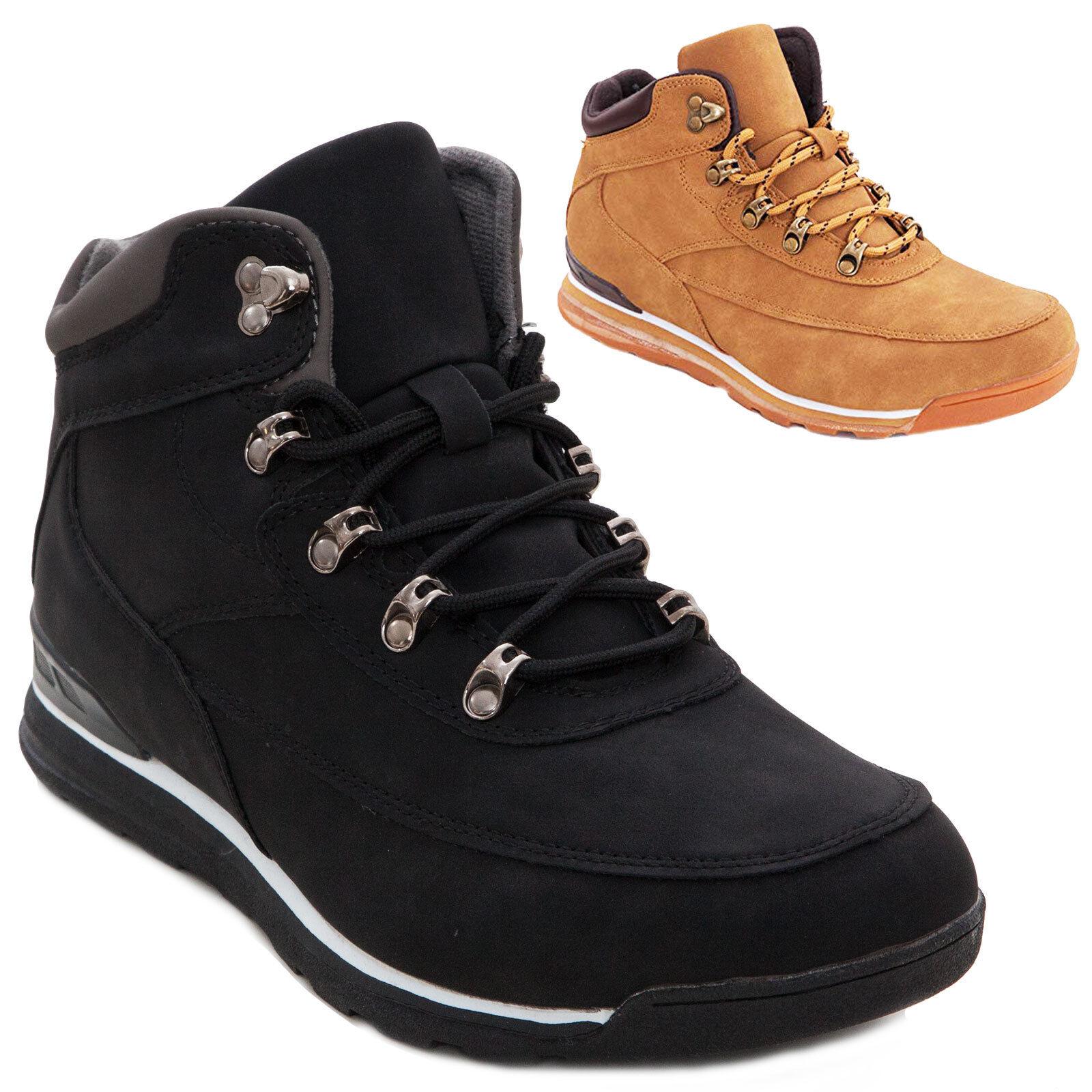 a81ab2e117103 Zapatos de hombre casual zapatillas botines botas con cordones nuevo 8812