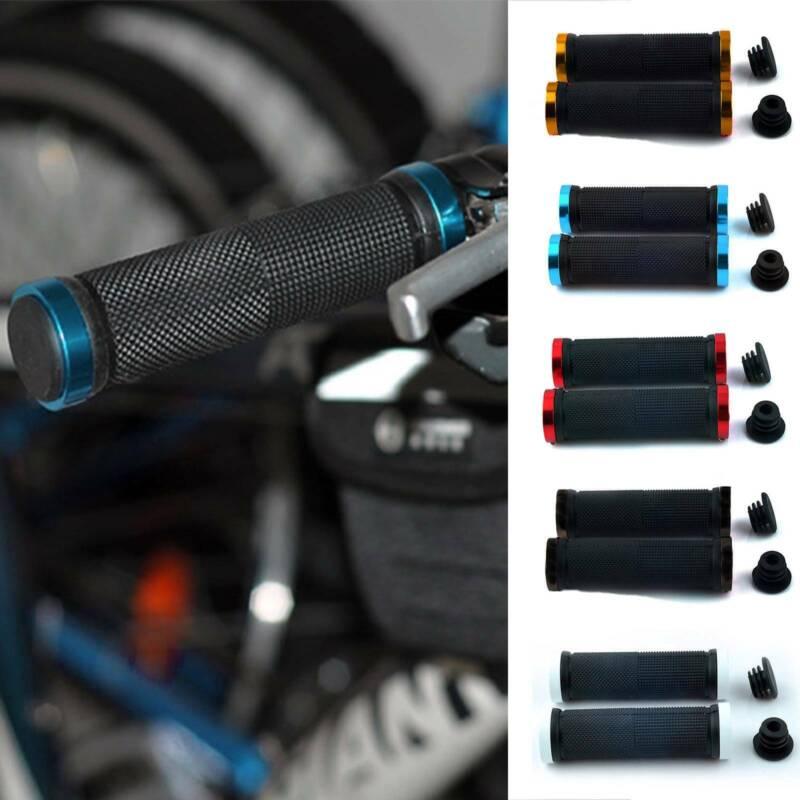 NEW GEL MTB LOCK ON BMX BIKE CYCLE LOCKING HANDLEBAR GRIPS
