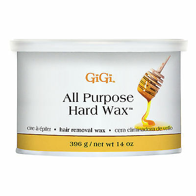 GiGi All-Purpose Body & Facial Hair Removal Hard Wax, 14 Ounce Container | 0332