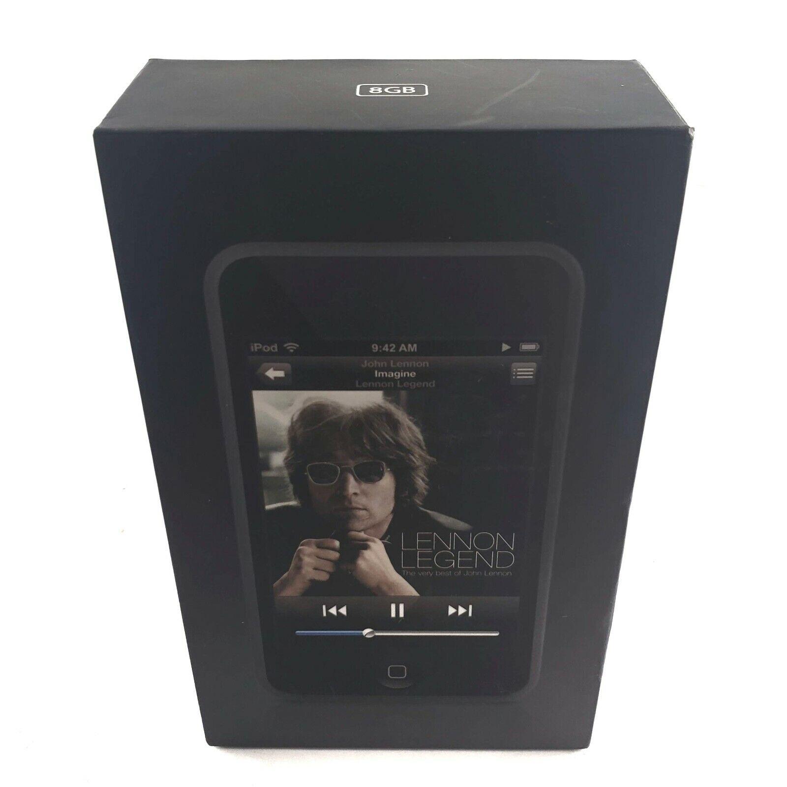 EMPTY BOX Apple iPod Touch 16GB MA627LL/B Model A1213 NO iPOD john lennon legend