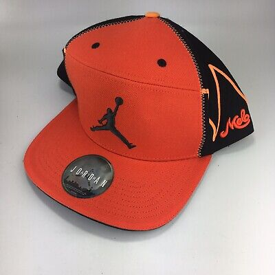 Jordan Melo Hat Orange Black Carmelo Anthony Style Sneaker Hat One Size (Carmelo Anthony Style)